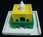 Maket Rumah Ibadah Masjid