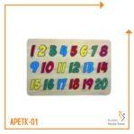 Puzzle Angka 1-20