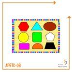 Puzzle Bentuk dan Warna