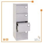 Filling Cabinet Super 4 Laci Brother (Abu-Abu)