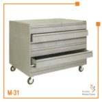 Almari Gamabr Horizontal 6 Laci A0 Brother (Abu-Abu)