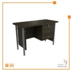 Meja Kerja Side table Orbit Trend (Brown Beech)