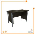 Meja Kerja Office Table 1/2 Biro Tipe C Orbit Trend (Brown Beech)