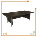 Meja Kerja Conference Table Tipe B Orbit Trend (Brown Beech)