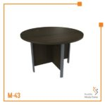 Meja Kerja Conference Table Tipe A Orbit Trend (Brown Beech)