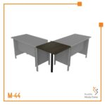 Meja Kerja Joint Table Orbit Trend (Brown Beech)
