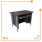 Meja Kerja Computer Table Orbit Trend (Brown Beech)