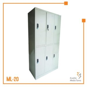 Loker 6 Pintu Gandeng Standard Datafile