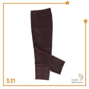 Bawahan Celana Panjang Pramuka Karet Kempol SMA