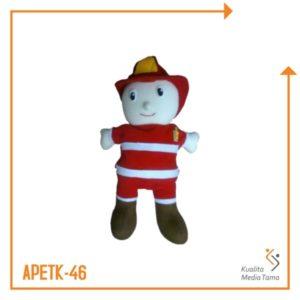 Boneka Tangan Profesi Pemadam Kebakaran