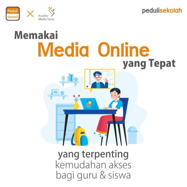 Tips Efektif Pembelajaran Online Media yang Tepat