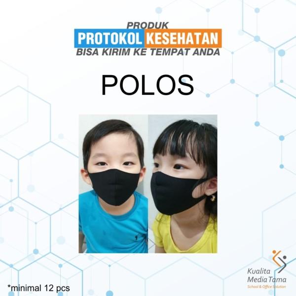 Masker Scuba Custom Polos Anak