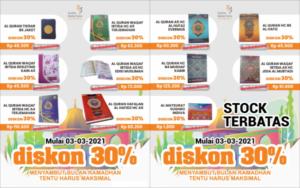 Promo Al Quran 3 – 3 Sambut Ramadan Terbaik Anda